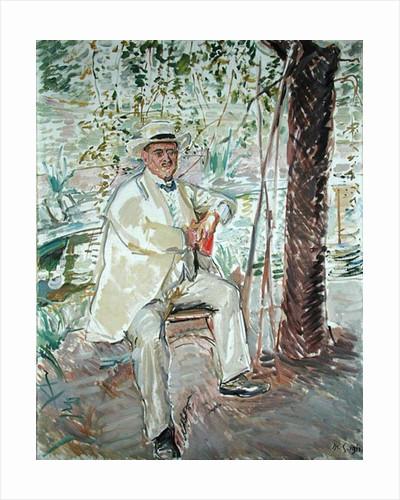 The Art Historian, Professor Dr. Karl Voll 1911 by Max Slevogt