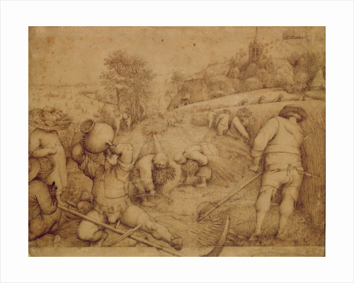 Summer by Pieter Bruegel the Elder