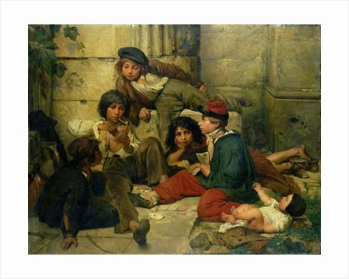 Children of the Streets of Paris by Friedrich Karl Hausmann