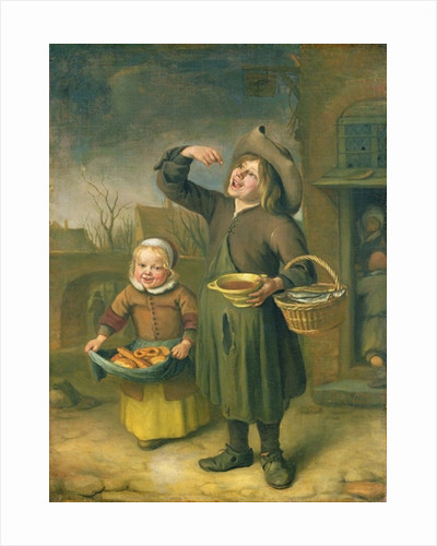 The Syrup Eater by Jan Havicksz. Steen