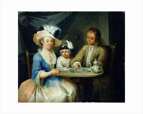 Family Portrait by German School
