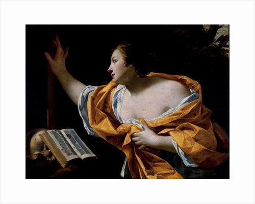 The Penitent Magdalene by Simon Vouet
