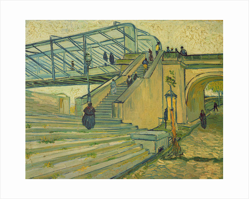 Bridge of Trinquetaille by Vincent van Gogh