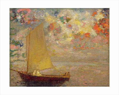 Sailboat by Odilon Redon