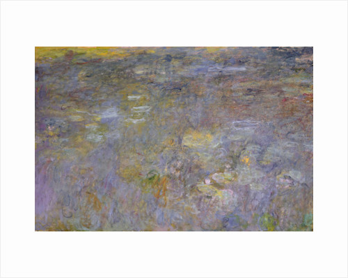 The Water-Lily Pond by Claude Monet