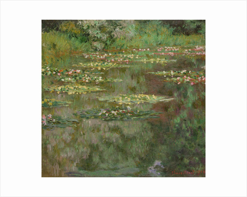 Waterlilies or The Water Lily Pond (Nymphéas) by Claude Monet