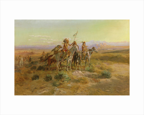 The Scouts by Charles Marion Russell