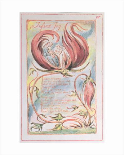Songs of Innocence; Infant Joy by William Blake