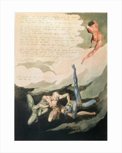 Europe a Prophecy 'Unwilling I look up' by William Blake