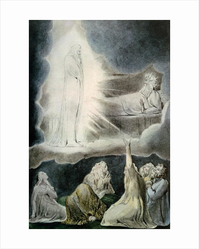 The Vision of Eliphaz by William Blake