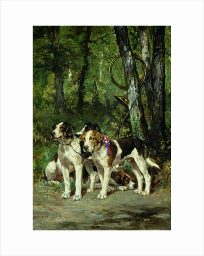 A Pack of Hounds by Charles Oliver de Penne