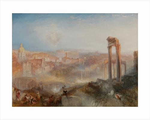 Modern Rome, Campo Vaccino by Joseph Mallord William Turner