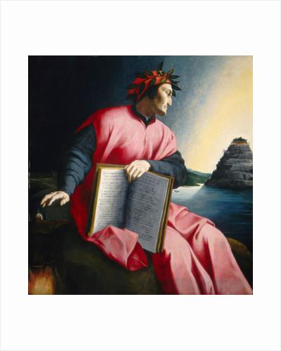 Allegorical Portrait of Dante, late 16th century by Florentine School