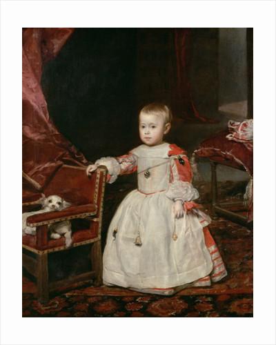 Prince Philip Prosper by Diego Rodriguez de Silva y Velazquez