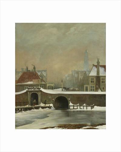 The Raampoortje in Amsterdam by Wouter Johannes van Troostwijk