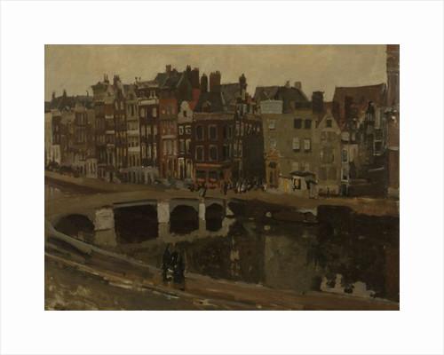 The Rokin in Amsterdam by Georg-Hendrik Breitner