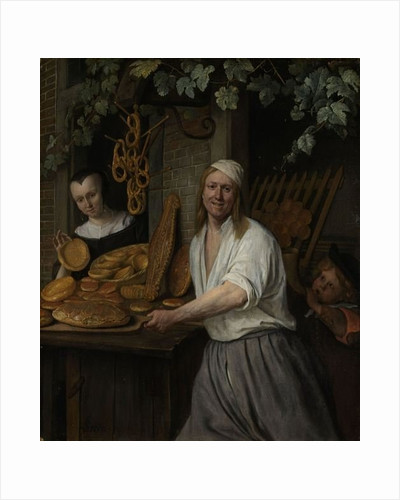 The Baker Arent Oostwaard and his Wife Catherina Keizerswaard by Jan Havicksz. Steen