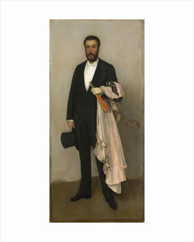 Portrait of Theodore Duret by James Abbott McNeill Whistler