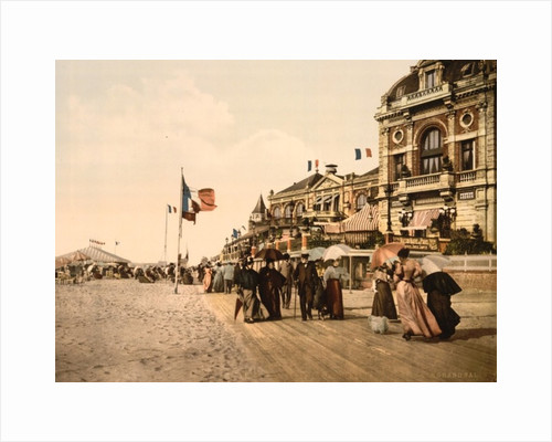 Promenade and grand Salon, Trouville by Anonymous