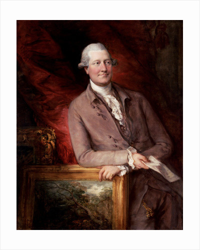 Portrait of James Christie by Thomas Gainsborough