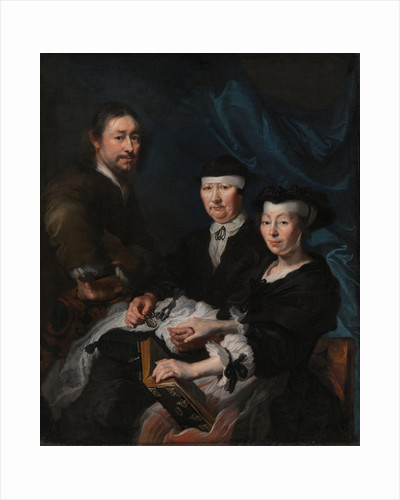 The Artist with his Family by Karel van III Mander