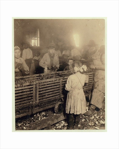 Factory of Lowden Canning Company, Bluffton, South Carolina by Lewis Wickes Hine