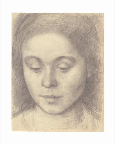 Portrait of Ida, the Artist's Wife by Vilhelm Hammershoi