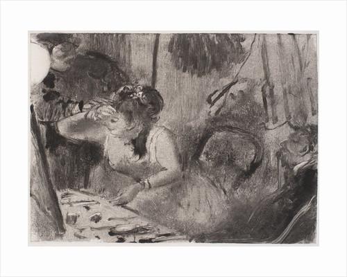 Intimacy by Edgar Degas
