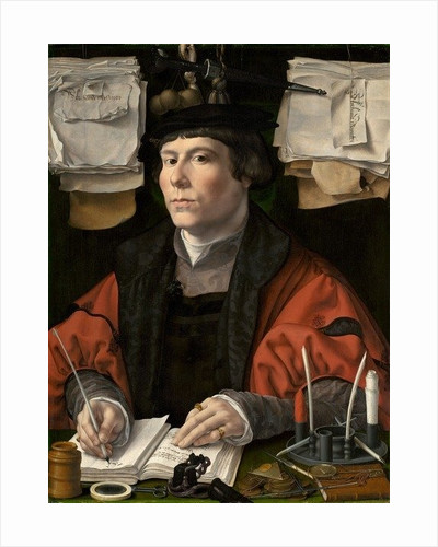 Portrait of a Merchant by Jan Gossaert