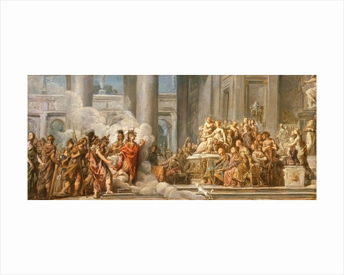 The Arrival of Aeneas in Carthage by Jean Bernard Restout