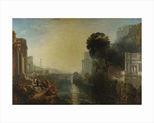 Dido building Carthage, or The Rise of the Carthaginian Empire by Joseph Mallord William Turner