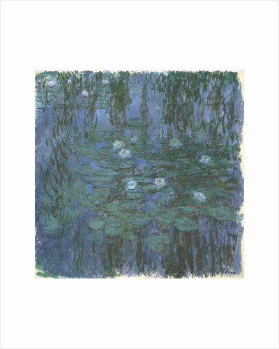 Blue Nympheas by Claude Monet