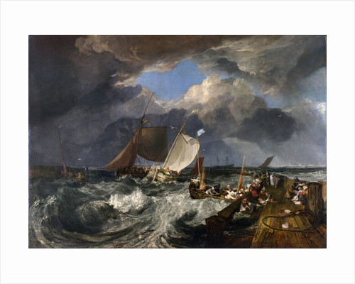 Calais Pier: An English Packet Arriving by Joseph Mallord William Turner