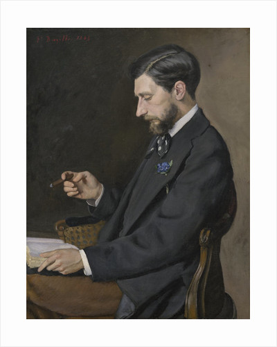 Edmond Maître by Jean Frederic Bazille