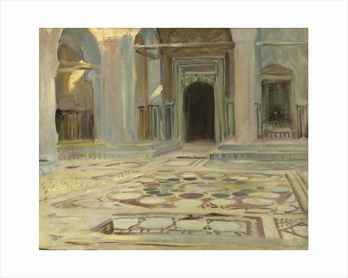 Pavement, Cairo by John Singer Sargent