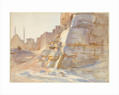 Cairo by John Singer Sargent