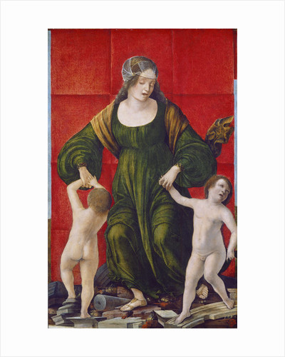 Wife of Hasdrubal and Her Children by Ercole de Roberti