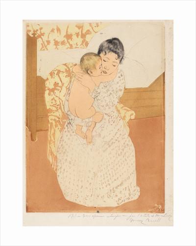 Maternal Caress by Mary Stevenson Cassatt