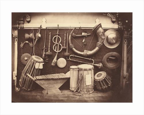 Still Life of Musical Instruments by Edmond Lebel