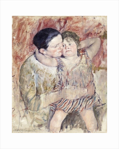 Woman and Child by Mary Stevenson Cassatt