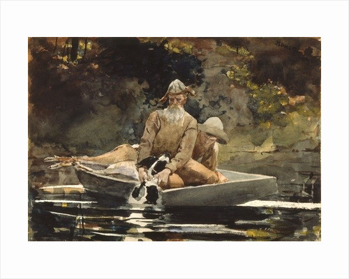 After the Hunt by Winslow Homer