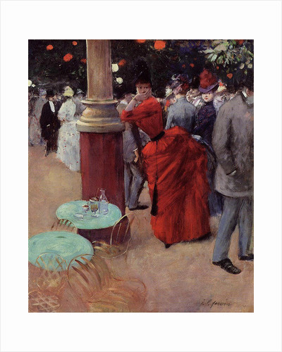 At the Public Garden by Jean Louis Forain