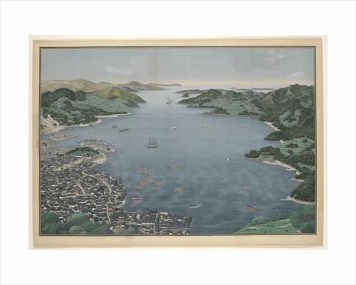 Nagasaki Harbour by Kawahara Keiga