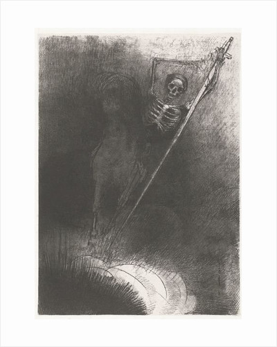 Death on a Horse by Odilon Redon