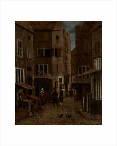 Street Scene by Jacobus Vrel or Frel