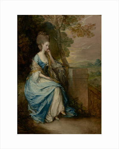 Portrait of Anne, Countess of Chesterfield, 1777-8 by Thomas Gainsborough