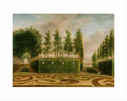 A Formal Garden by Johannes Janson