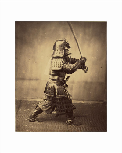 Japanese Warrior in Armour by Felice Beato