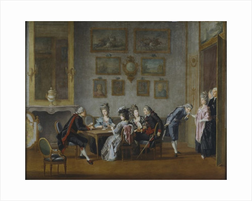 Card-Party in the Home of Elis Schroderheim by Pehr Hillestrom