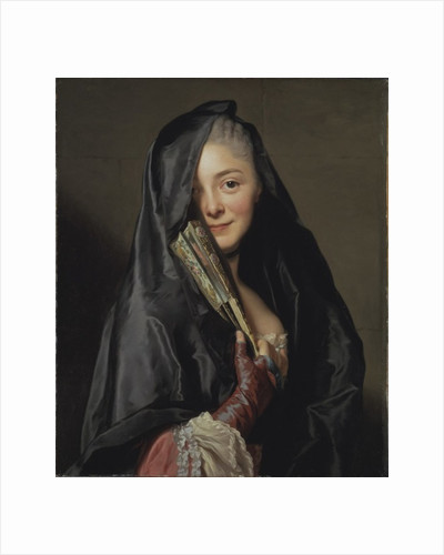 The Lady with the Veil by Alexander Roslin